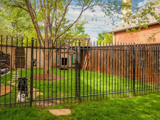 steel metal fence dallas tx