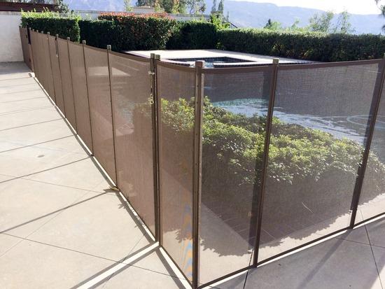 mesh pool fence dallas tx
